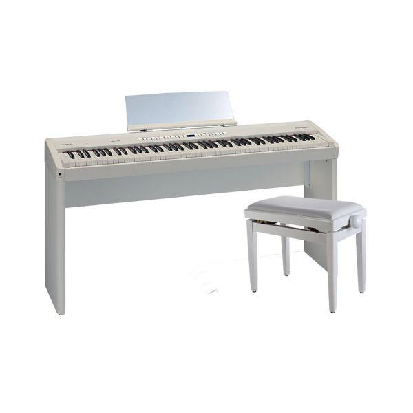 ROLAND FP50WH Pianoforte Digitale Bianco / Panchetta Regolabile / Stand