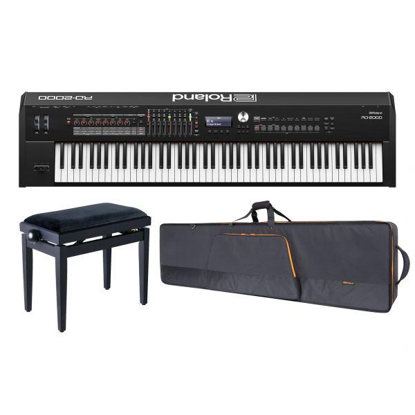ROLAND RD2000 Stage Piano / Borsa Imbottita / Panchetta Regolabile in Omaggio!