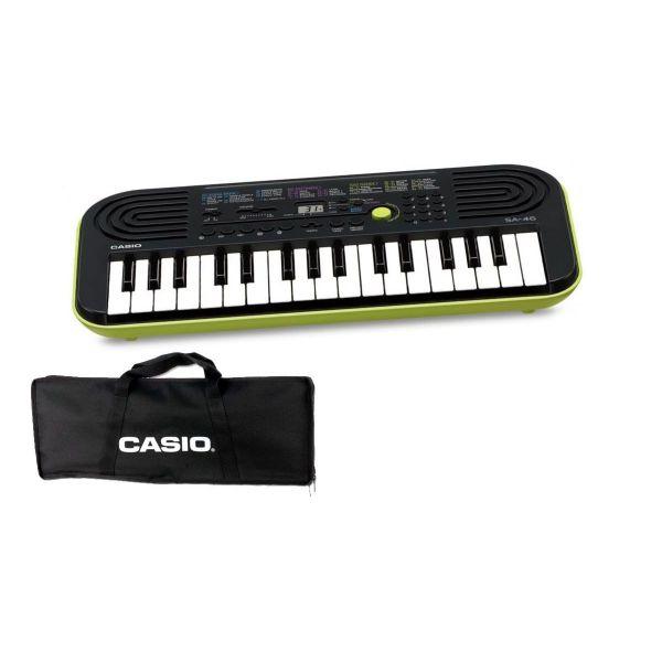 CASIO Set SA46 Tastiera 32 Tasti Mini / Minibag