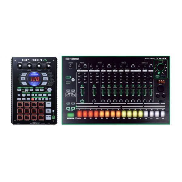 ROLAND SP404A + TR8 - Campionatore + Drum Machine