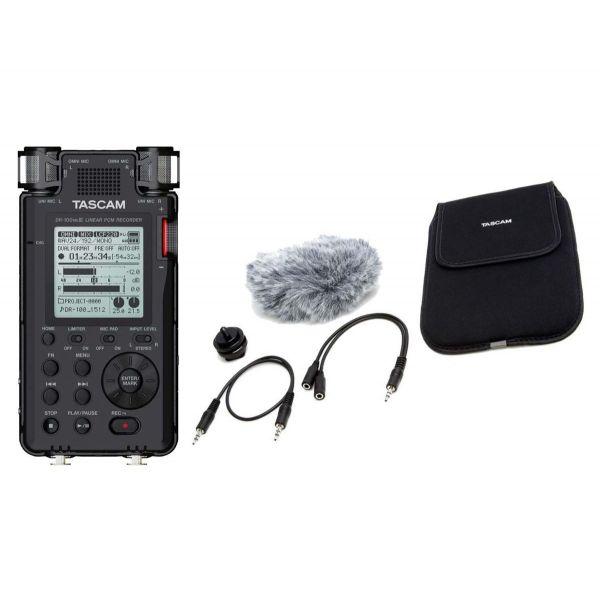 TASCAM DR100 MKIII Registratore Stereo con Set Accessori PRO
