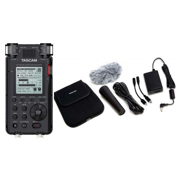 TASCAM DR100 MKIII Registratore Professionale Stereo con Set Accessori