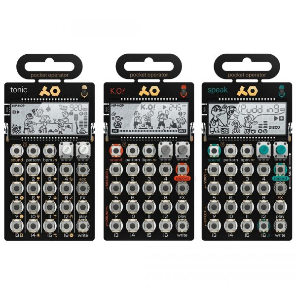 Teenage Engineering Set PO-32 Tonic / PO-33 KO! / PO-35 Speak