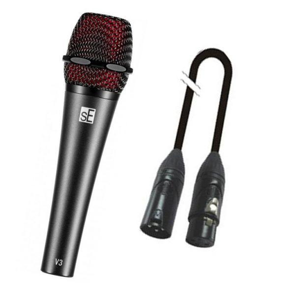 SE ELECTRONICS V3 Microfono per Live / Cavo Microfonico 2mt