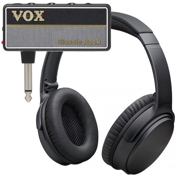Vox Amplug 2 Classic Rock Mini Amplificatore a Jack per Chitarra con Cuffie