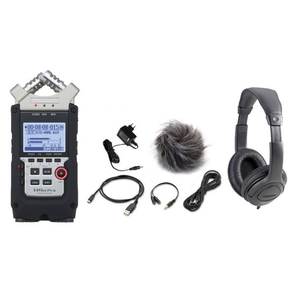 Zoom H4n Pro Registratore Digitale / Kit Accessori / Cuffia