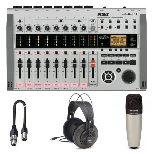 Zoom R24 Recording Pack - Kit per Registrazione