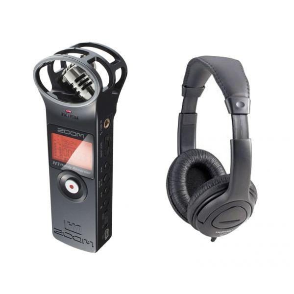 ZOOM H1 MB 2.0 Registratore Vocale Digitale con Cuffia