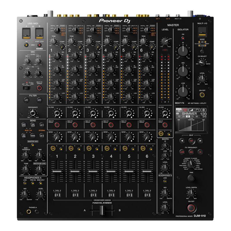 Pioneer DJM-V10 - Mixer DJ a 6 Canali Professionale