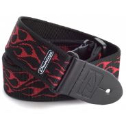 Dunlop D38-11RD STRAP FLAMBE-RED