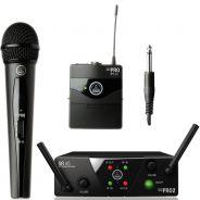 AKG WMS 40 Mini 2 VOCAL/INSTRUMENTAL SET Dual - RADIOMICROFONO