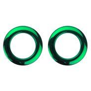 BASS DRUM O's HCG2 Green -(COPPIA) ANELLI DI RINFORZO FORO TOM 2