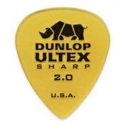 DUNLOP 433P - 6 PLETTRI ULTEX 'SHARP' 2.00mm