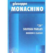 CARISCH Monachino - 24 SOLFEGGI PARLATI moderni e classici