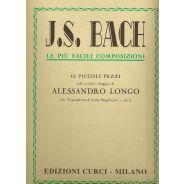 CURCI Bach, J. S. - Le più facili composizioni