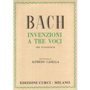 CURCI BACH, Johann Sebastian - Invenzioni a 3 Voci (Casella)