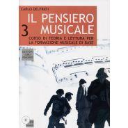 CURCI Delfrati Carlo - IL PENSIERO MUSICALE, Volume 3 (+CD)
