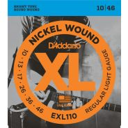 D'addario EXL110 Muta Corde per Chitarra Elettrica (010-046)