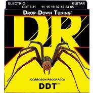 Dr DDT7-11 Drop Down Muta per Chitarra Elettrica Extra Heavy 011-065