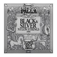 ERNIE BALL 2406 - Muta per Chitarra Classica Black&Silver (028/042)