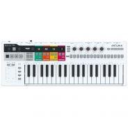 Arturia KeyStep Pro Step Sequencer Tastiera Controller MIDI/USB 37 Tasti Bianca