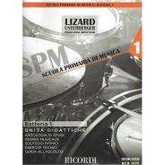 Ricordi Batteria e Percussioni Vol. 1 (Unità didattiche) Libro + Audio-online
