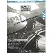 Ricordi Batteria e Percussioni Vol. 2 (Unità didattiche) Libro + Audio-online