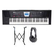 ROLAND BK3 BK Backing Keyboard 61 Tasti Nera / Cuffie / Supporto