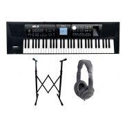 ROLAND BK5 BK Backing Keyboard 61 Tasti / Cuffie Monitor Professionali / Supporto