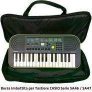 Borsa custodia Imbottita tastiera Casio SA46 / SA47 KeyBag MiniBag