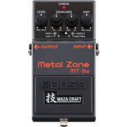 BOSS MT-2W Metal Zone (Waza Craft) Distorsore a Pedale per Chitarra Elettrica