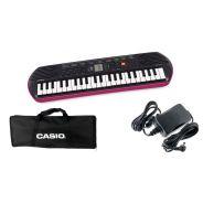 CASIO Set Tastiera SA78 / Minibag / Alimentatore Bundle