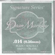 Dean Markley 1014 - Singola per Elettrica Plain Steel .014