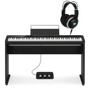 Casio Privia PX S1000 BK Set Pianoforte Digitale 88 Tasti Stand Pedaliera Cuffie