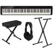 Casio PX S1000 BK Pack - Pianoforte Digitale con Supporto Panca e Cuffie