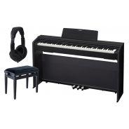 Casio Privia PX 870 Black Home Set - Pianoforte Digitale / Panchetta / Cuffie
