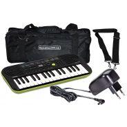 Casio SA46 Tastiera Elettronica 32 Tasti pianola Scolastica Borsa e Alimentatore