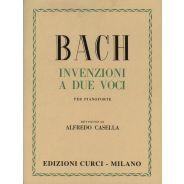 Curci Bach Johann Sebastian - Invenzioni a Due Voci (Casella)