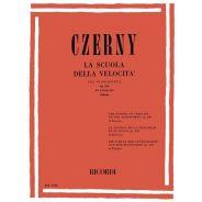 RICORDI Czerny, La Scuola Della Velocità Sul Pianoforte Op.299