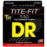 Dr EH-11 Tite-Fit Muta per Chitarra Elettrica Nickel Wound 011/050