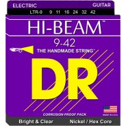 Dr LTR-9 Hi-Beam Muta per Chitarra Elettrica Nickel Plated 009-042