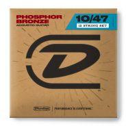 Dunlop DAP1047J Acoustic Phosphor Bronze Light Set 12 Corde Chitarra Acustica