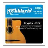 D'Addario EJ83L - Muta per Chitarra Acustica Gipsy Jazz Light (010/044)