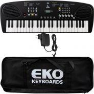 Eko Okey 49 Tastiera 49 Tasti Mini per Principianti con Alimentatore e Borsa