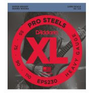 D'ADDARIO EPS230 - Muta per Basso Elettrico Pro Steels Heavy (055/110)
