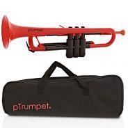 pTrumpet Tromba in Sib in Plastica Abs Rosso