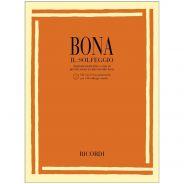 Ricordi P. Bona Il Solfeggio Libro + Cd