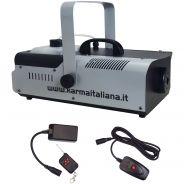 Karma DJ 1202 Macchina del Fumo 1200W con Comando a Filo e Radiocomando