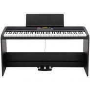 Korg XE20SP Pianoforte Digitale Nero 88 Tasti con Supporto e Pedaliera