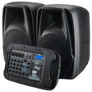 Laney AH2500D Impianto Audio PA Attivo Portatile 2 x 500W Bluetooth Mp3